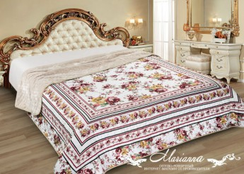 Marianna Покрывало мех 230х250 Silver Камила Marianna -